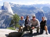 Group Viewing Half Dome
