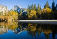 Half Dome Reflection on Merced River (Desiree S.)